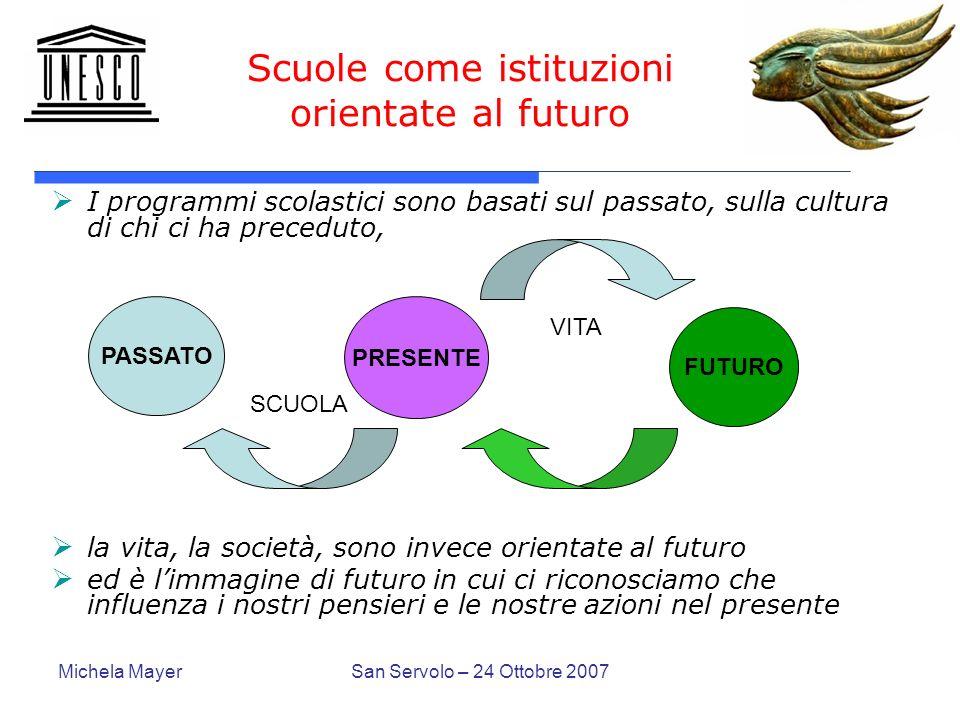 Scuole come istituzioni orientate al futuro