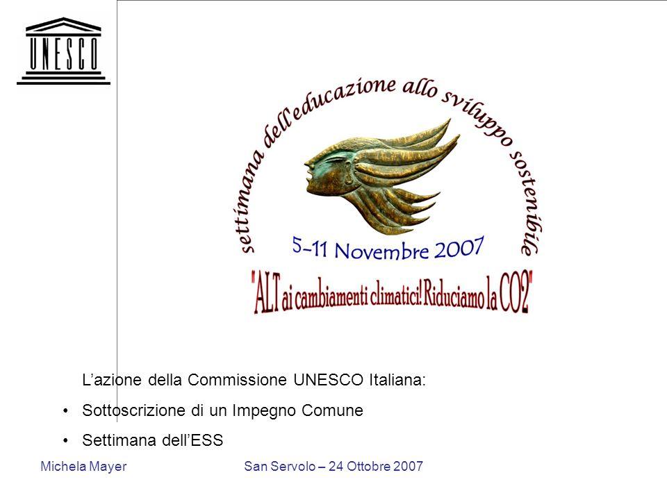 L'azione della Commissione UNESCO Italiana: