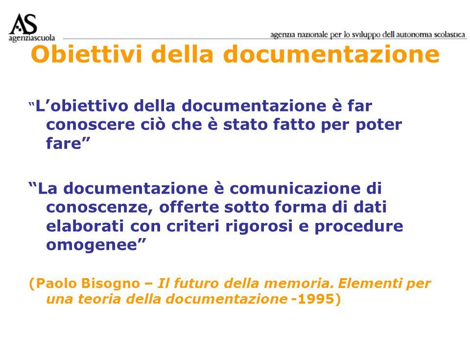 Obiettivi della documentazione
