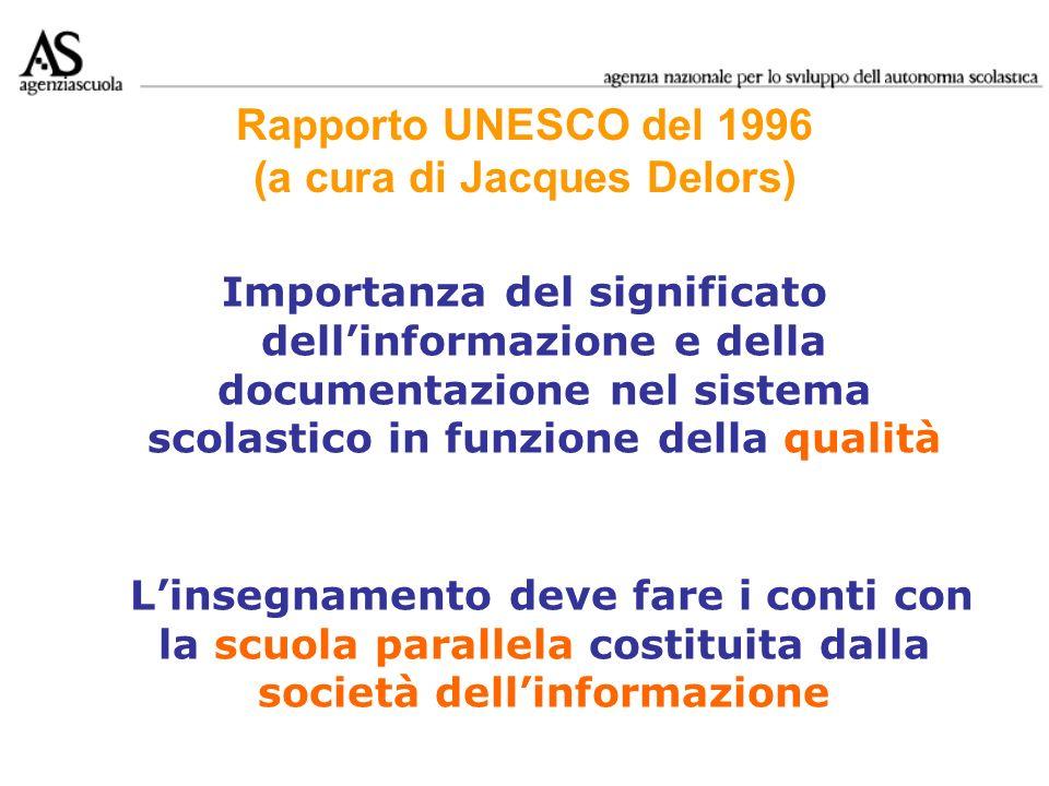 Rapporto UNESCO del 1996 (a cura di Jacques Delors)