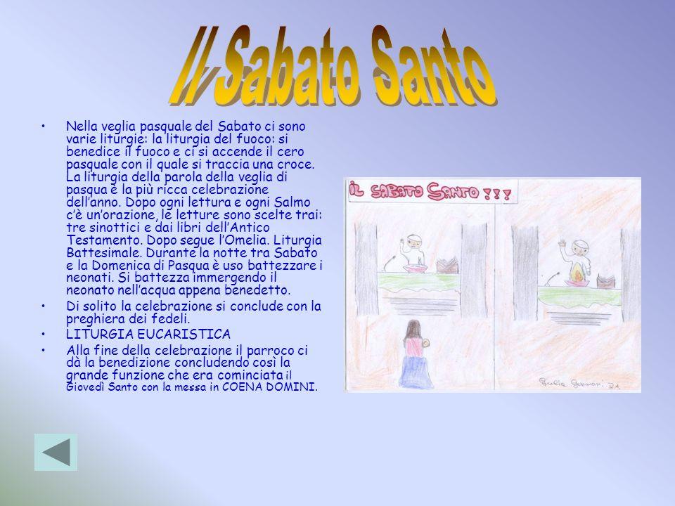 Il Sabato Santo
