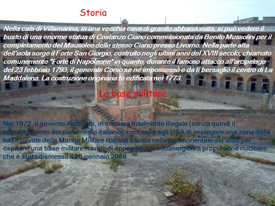 Storia La base militare