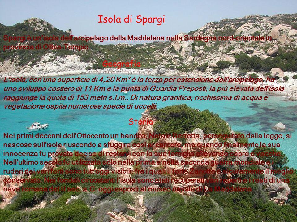 Isola di Spargi Geografia Storia
