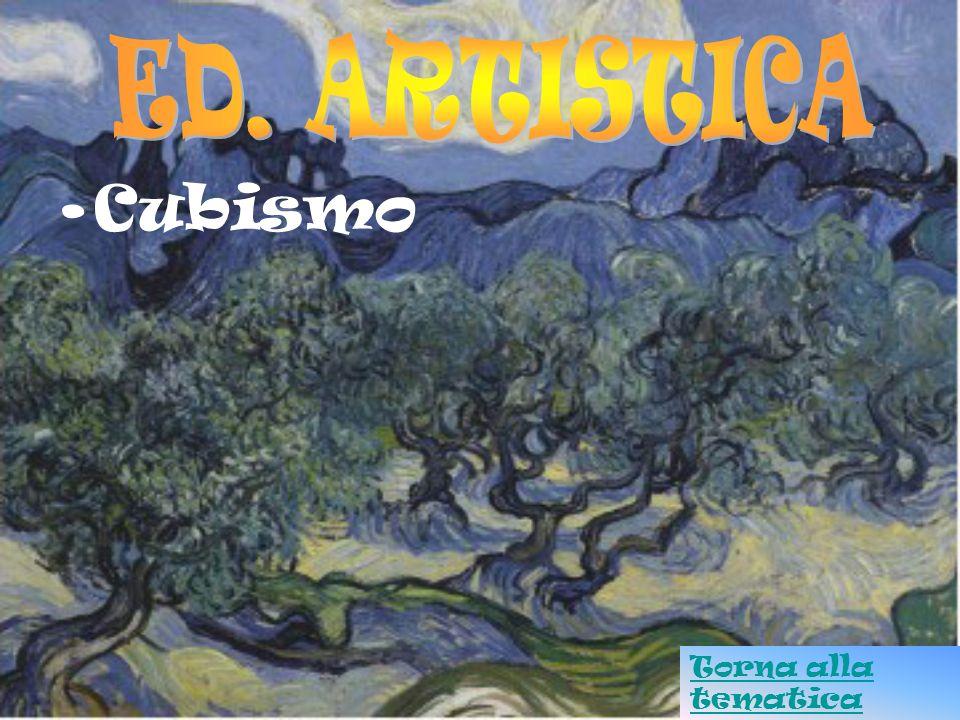 ED. ARTISTICA Cubismo Torna alla tematica