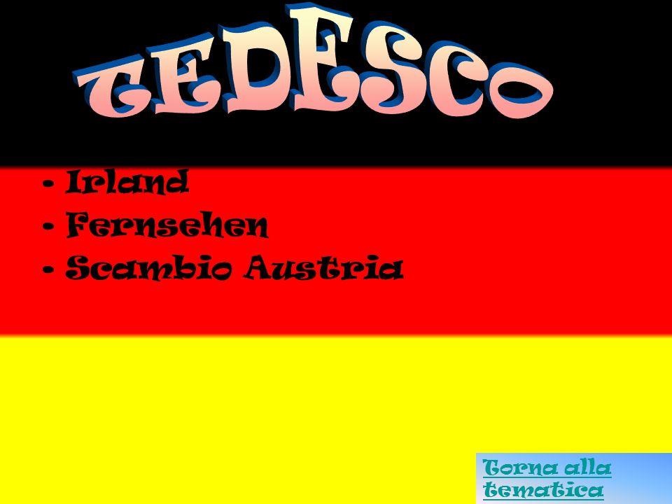 TEDESCO Korsika Irland Fernsehen Scambio Austria Torna alla tematica