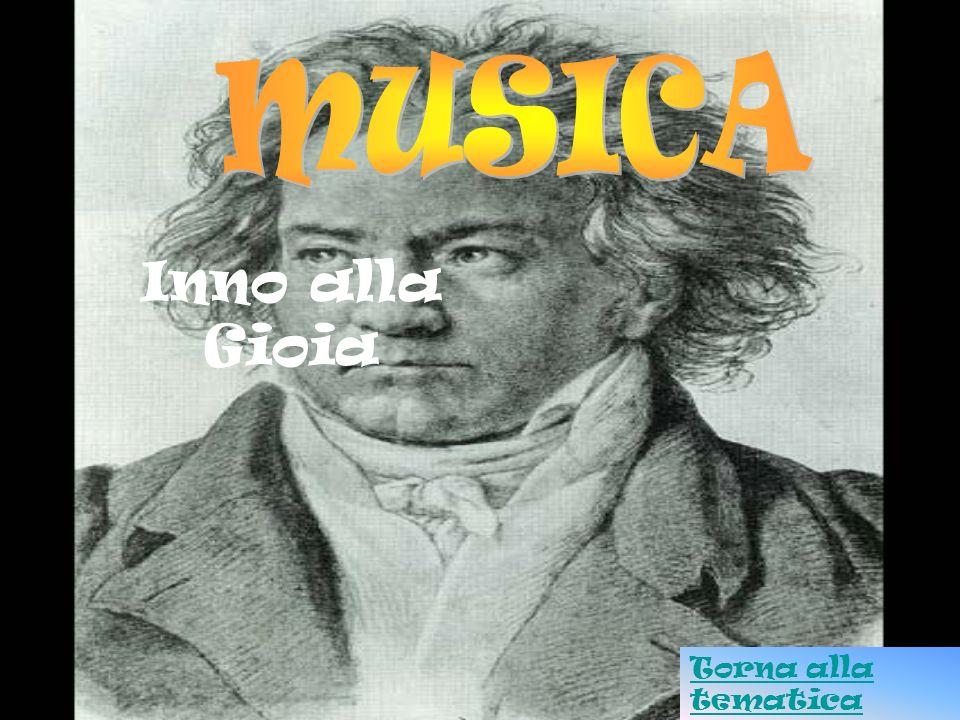 MUSICA Inno alla Gioia Torna alla tematica