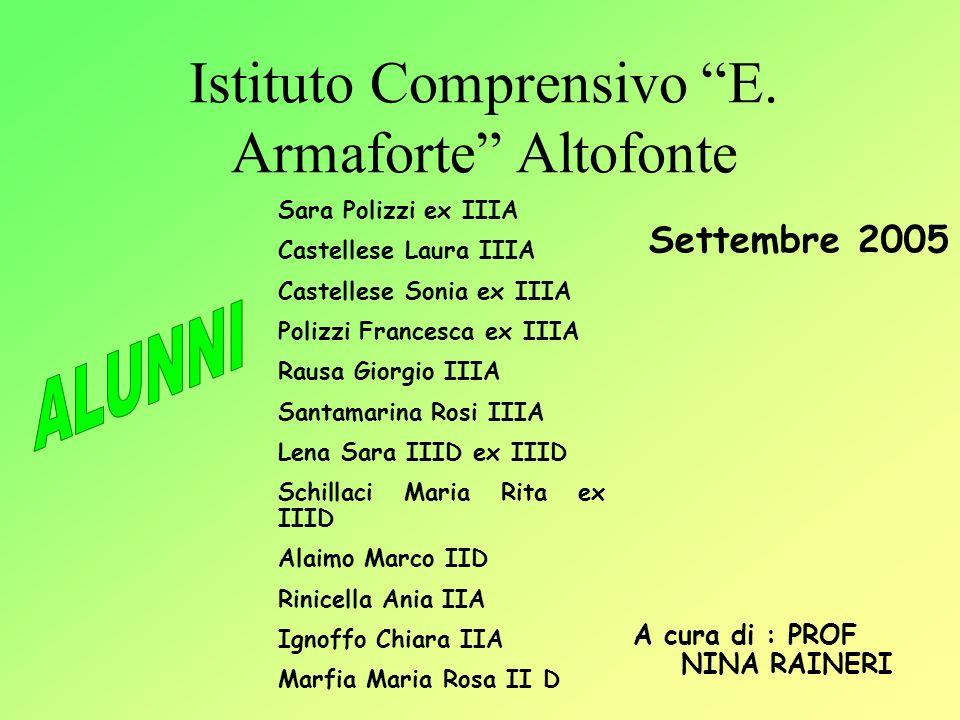 Istituto Comprensivo E. Armaforte Altofonte