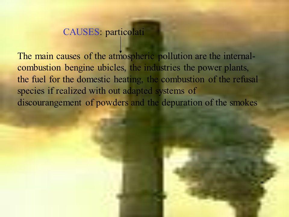 CAUSES: particolati