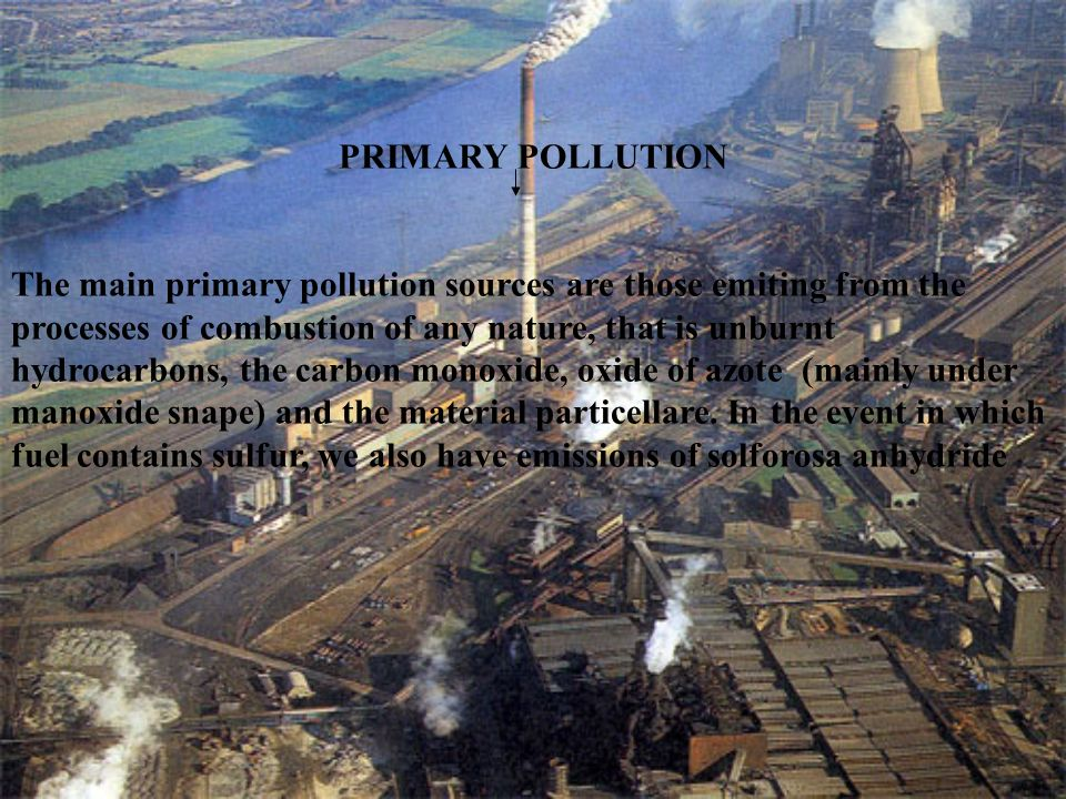 PRIMARY POLLUTION