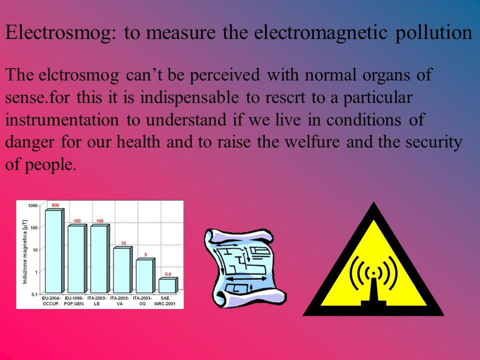 Electrosmog: to measure the electromagnetic pollution
