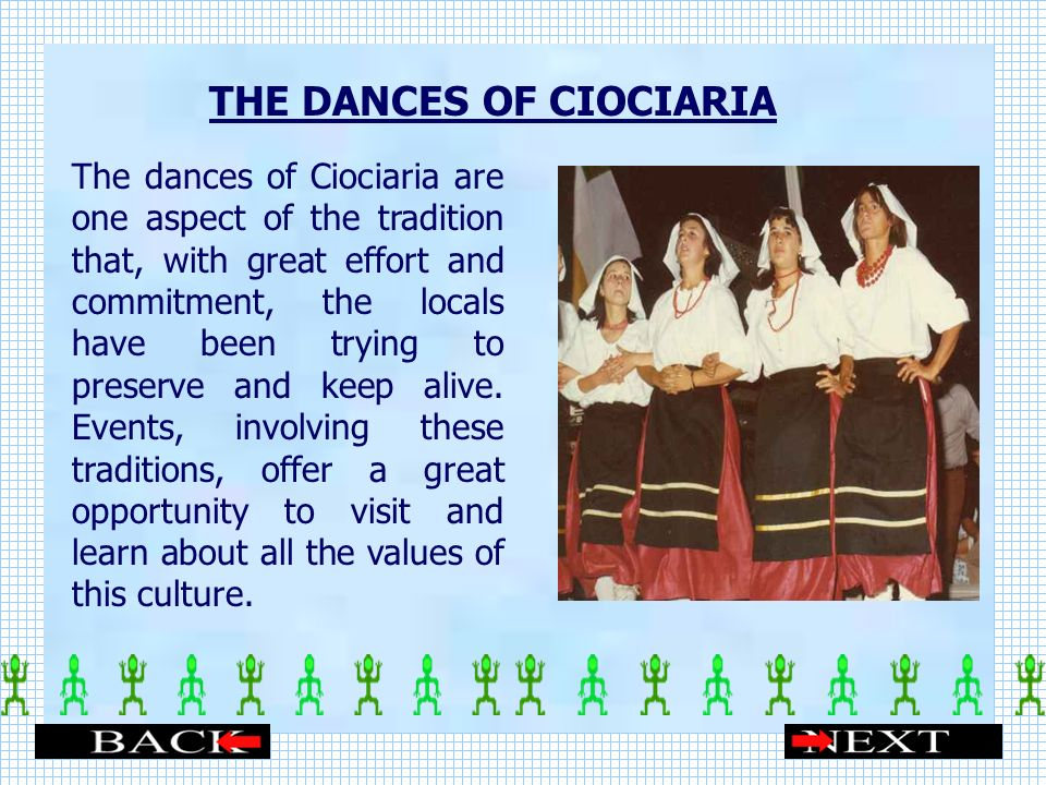 THE DANCES OF CIOCIARIA