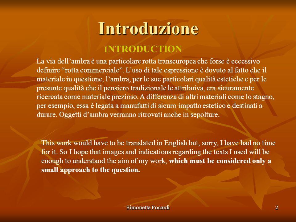 Introduzione INTRODUCTION