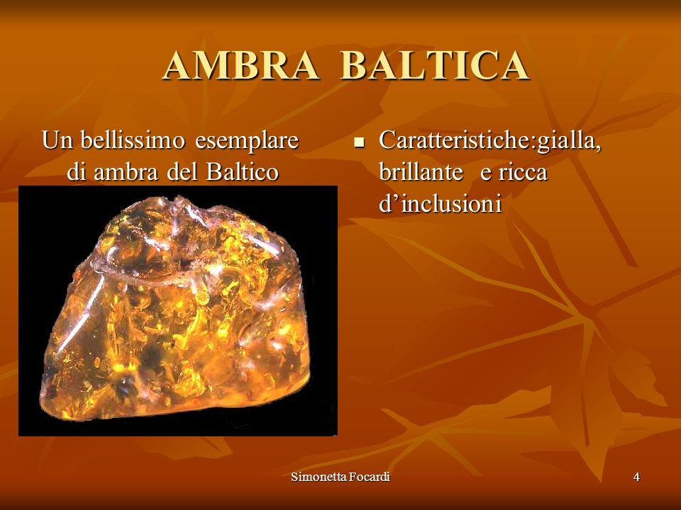 AMBRA BALTICA Un bellissimo esemplare di ambra del Baltico