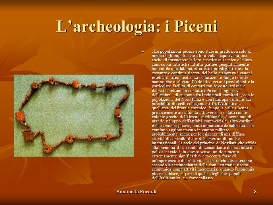 L'archeologia: i Piceni