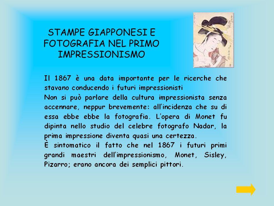 STAMPE GIAPPONESI E FOTOGRAFIA NEL PRIMO IMPRESSIONISMO