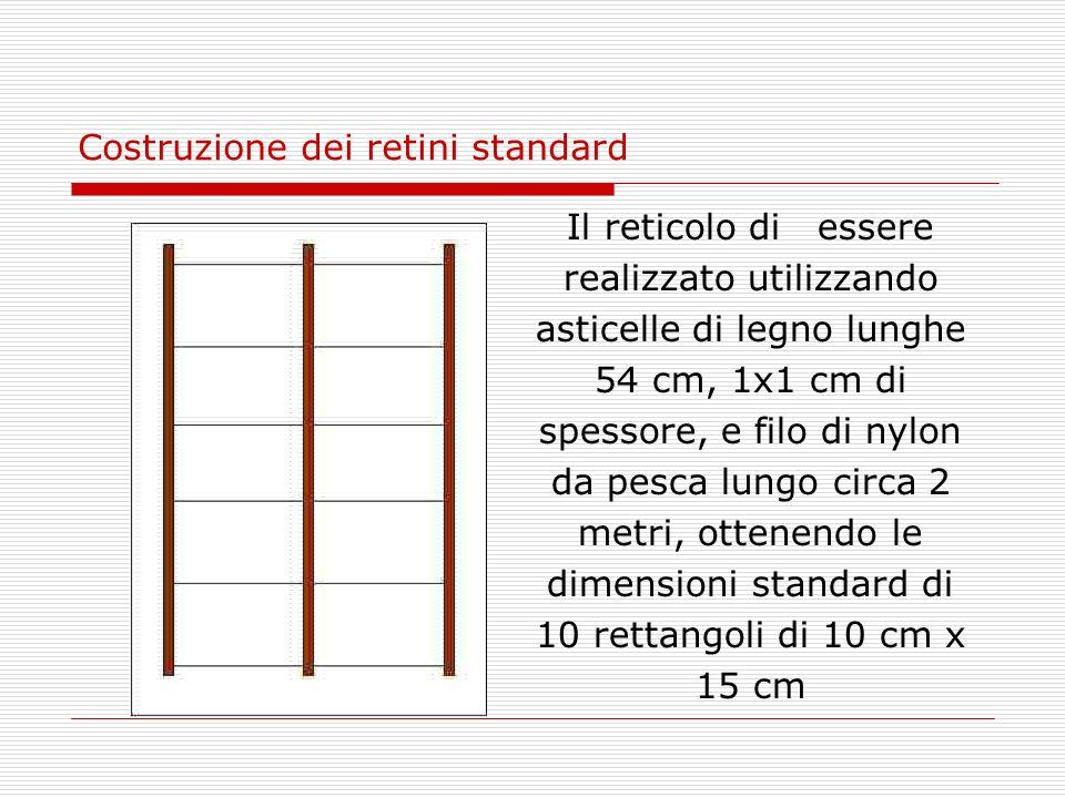 Costruzione dei retini standard