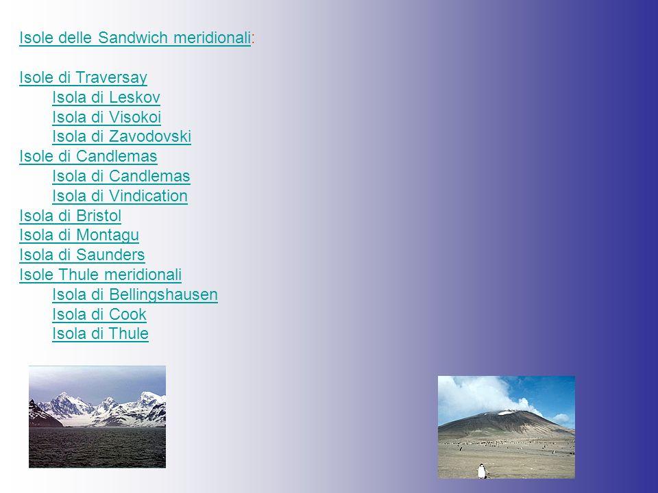 Isole delle Sandwich meridionali: