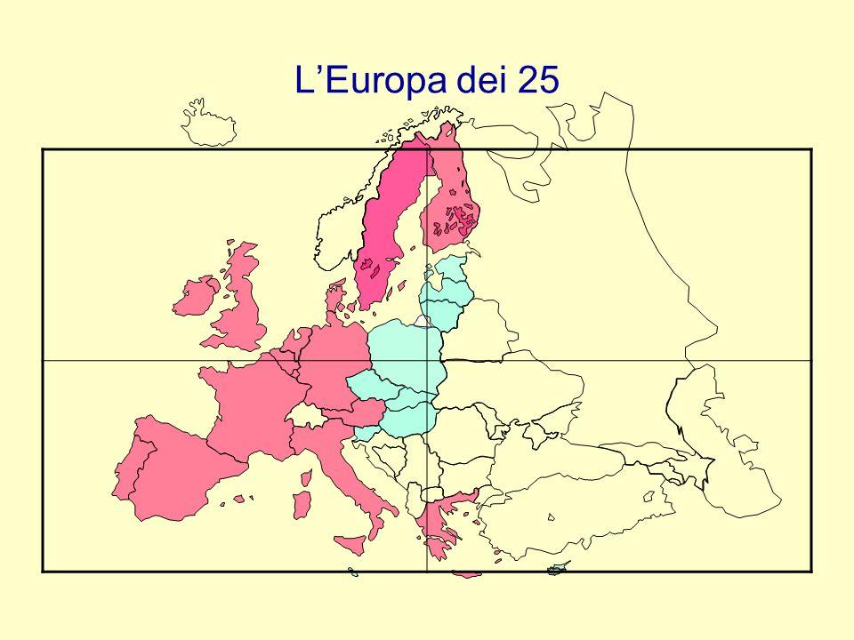 L'Europa dei 25