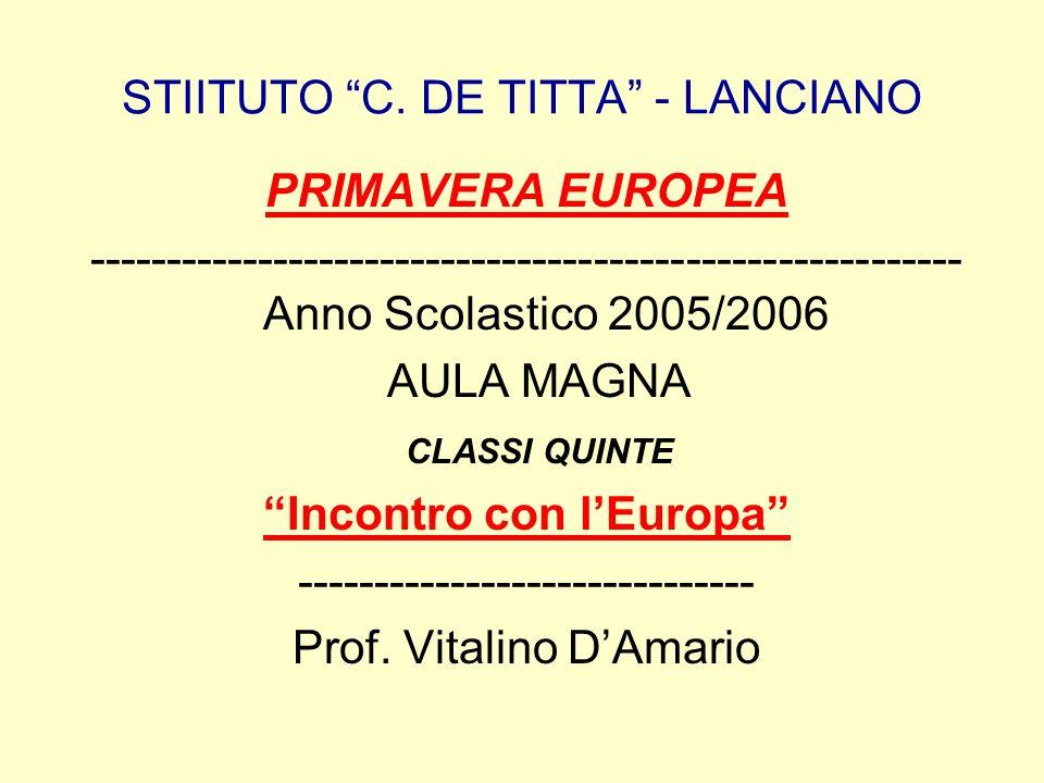 STIITUTO C. DE TITTA - LANCIANO
