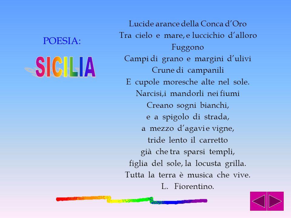 SICILIA POESIA: Lucide arance della Conca d'Oro