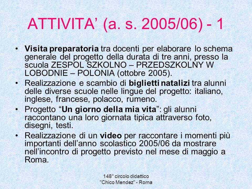 148° circolo didattico Chico Mendez - Roma