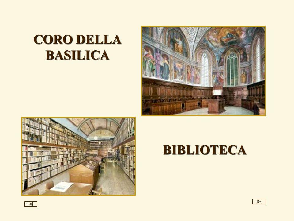CORO DELLA BASILICA BIBLIOTECA