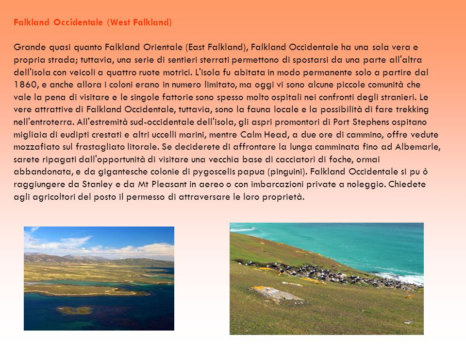 Falkland Occidentale (West Falkland)