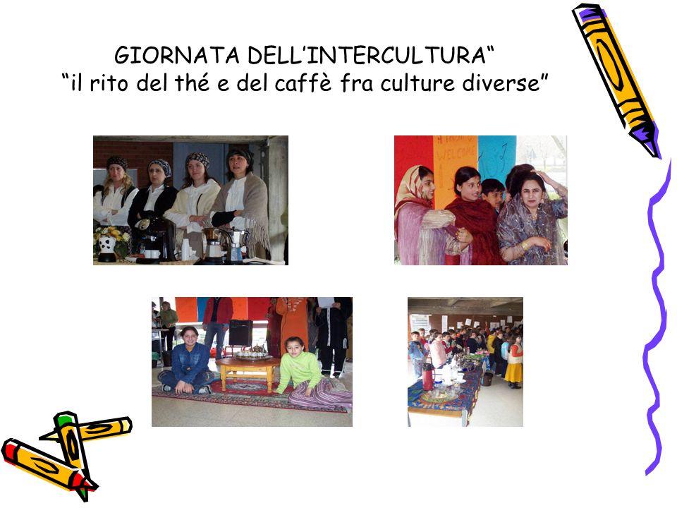 GIORNATA DELL'INTERCULTURA il rito del thé e del caffè fra culture diverse