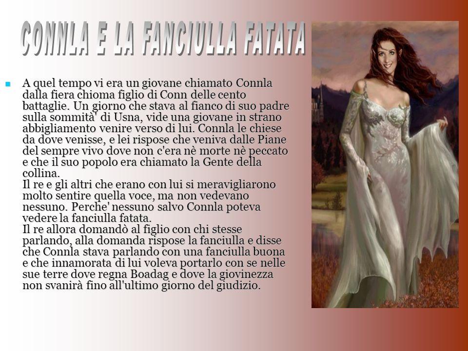 CONNLA E LA FANCIULLA FATATA