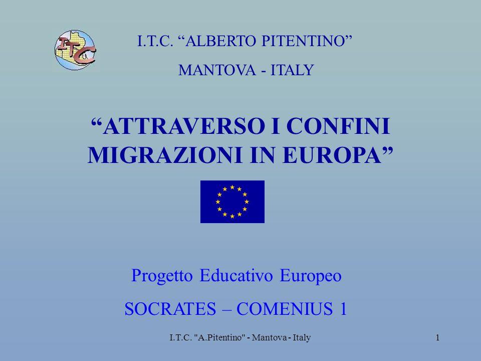 ATTRAVERSO I CONFINI MIGRAZIONI IN EUROPA