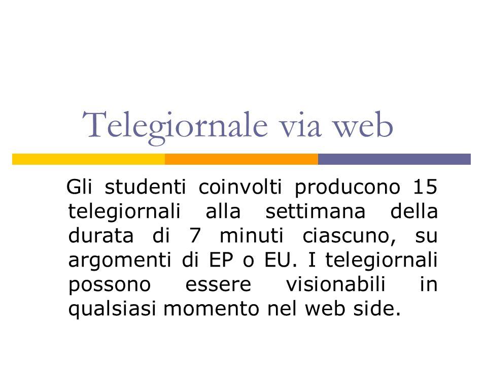 Telegiornale via web