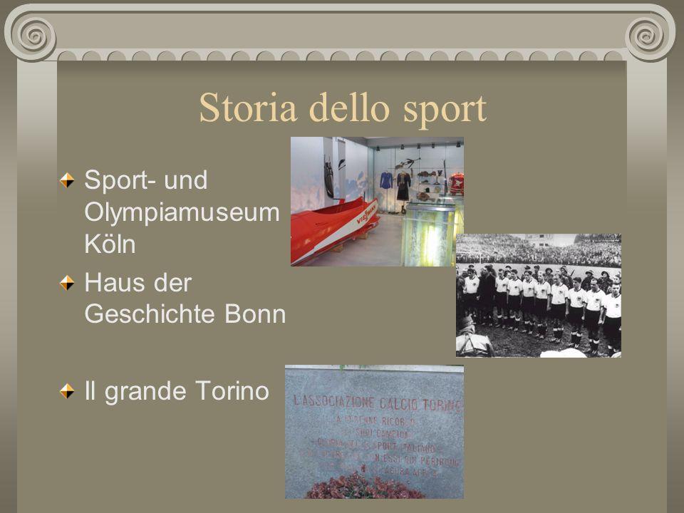 Storia dello sport Sport- und Olympiamuseum Köln