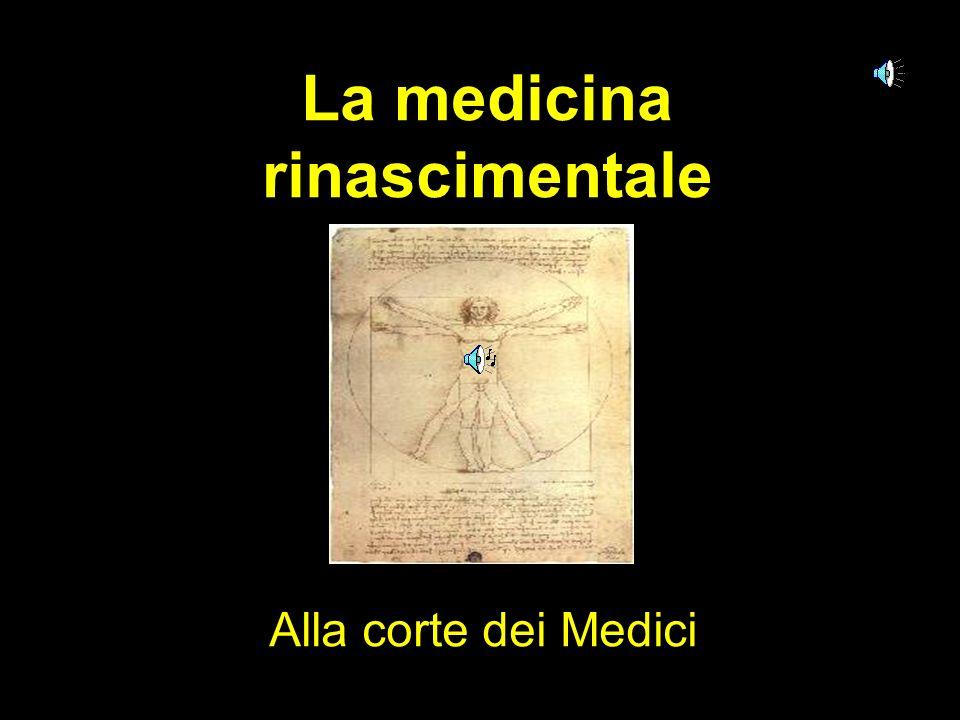 La medicina rinascimentale