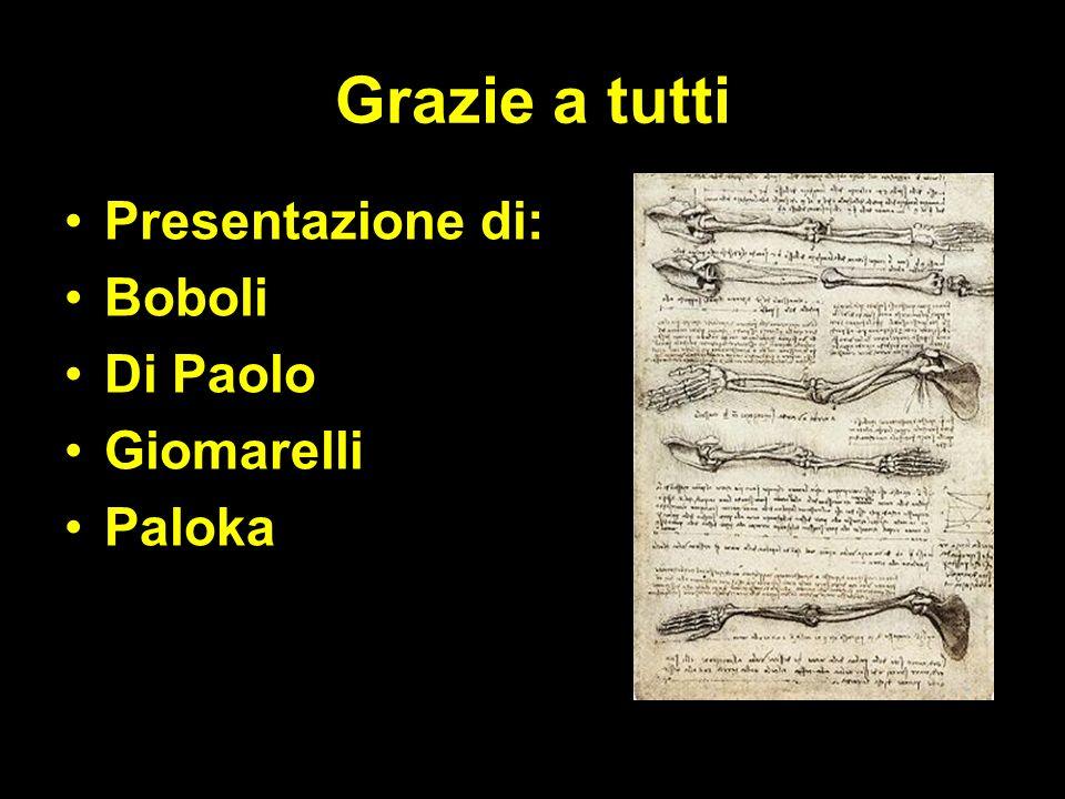 Grazie a tutti Presentazione di: Boboli Di Paolo Giomarelli Paloka