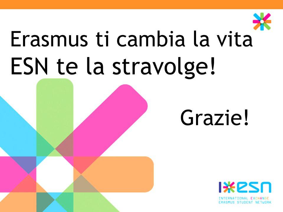 Erasmus ti cambia la vita ESN te la stravolge!