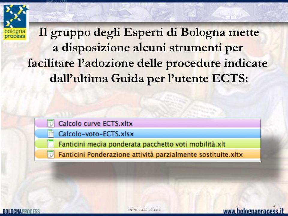 Il gruppo degli Esperti di Bologna mette
