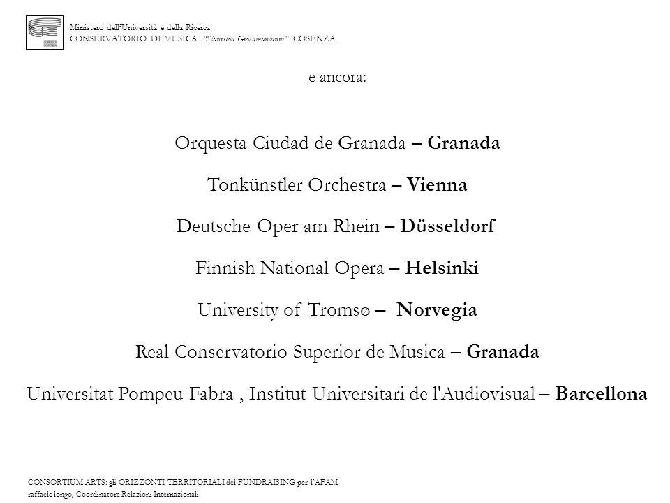 Orquesta Ciudad de Granada – Granada Tonkünstler Orchestra – Vienna