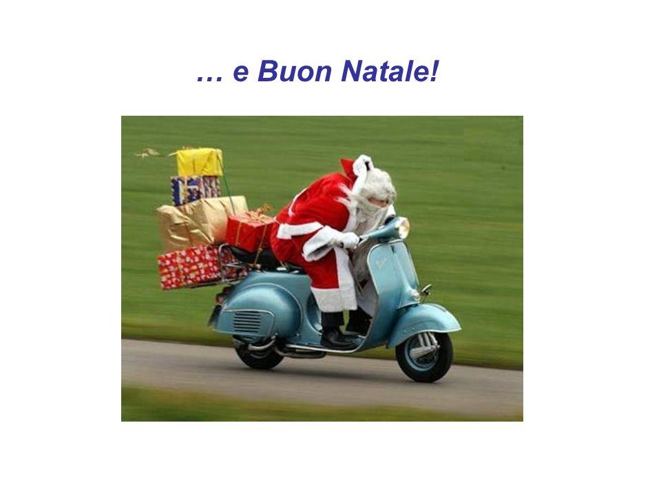 … e Buon Natale!