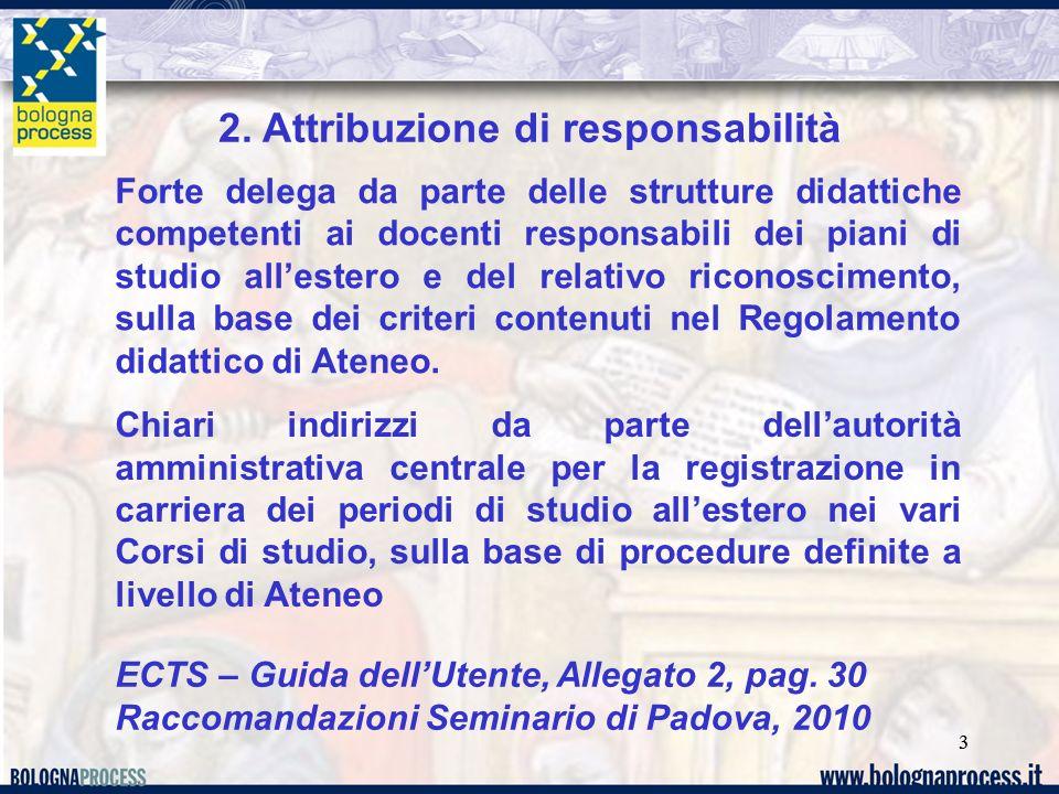 2. Attribuzione di responsabilità