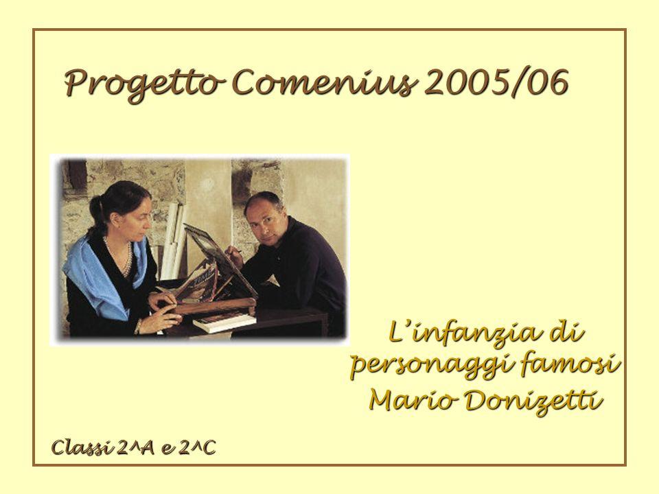 L'infanzia di personaggi famosi Mario Donizetti