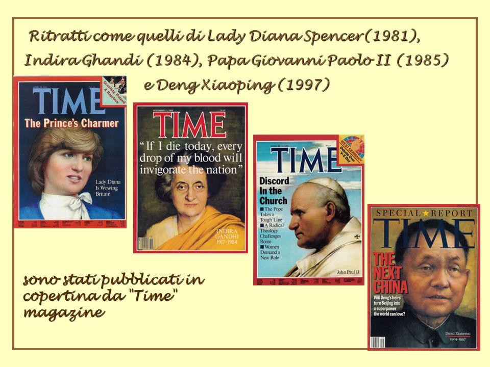 Ritratti come quelli di Lady Diana Spencer(1981),