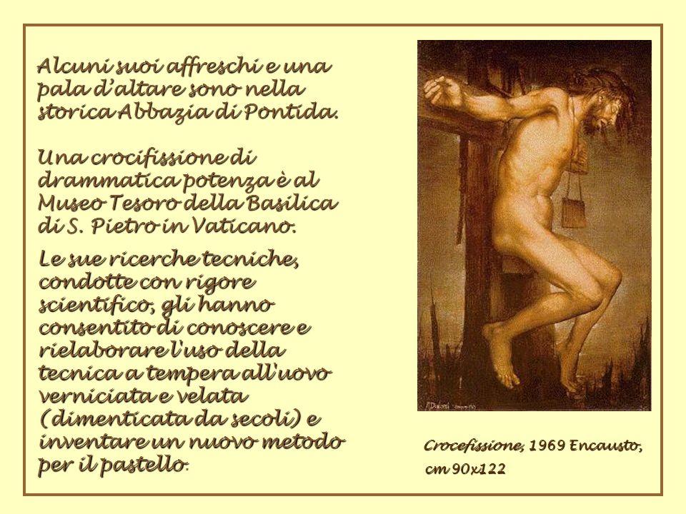 Crocefissione, 1969 Encausto,