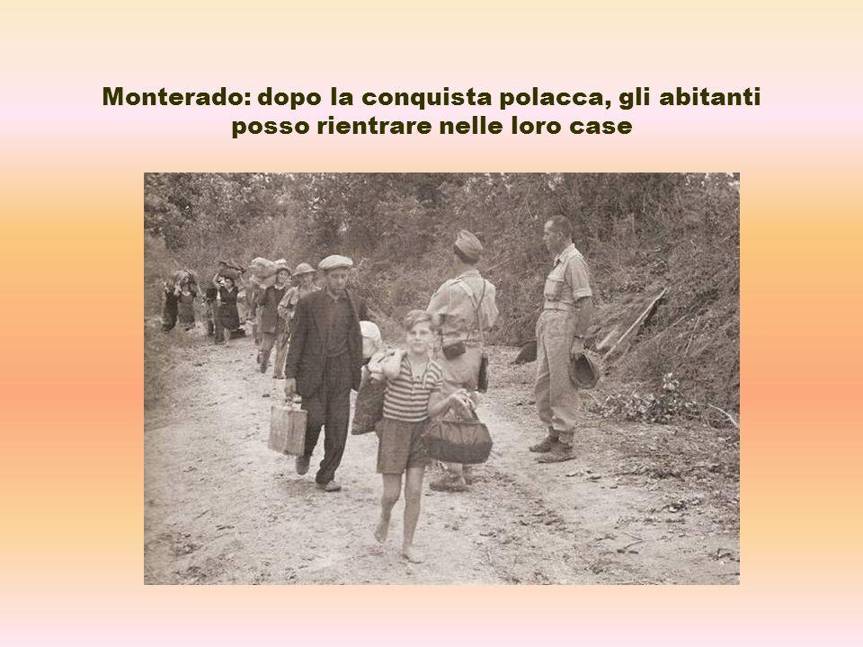Monterado: dopo la conquista polacca, gli abitanti posso rientrare nelle loro case