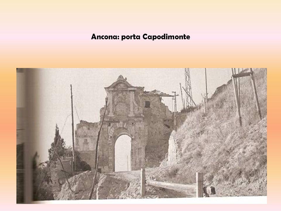 Ancona: porta Capodimonte