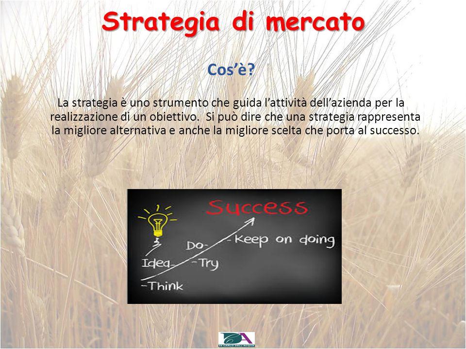 Strategia di mercato Cos'è