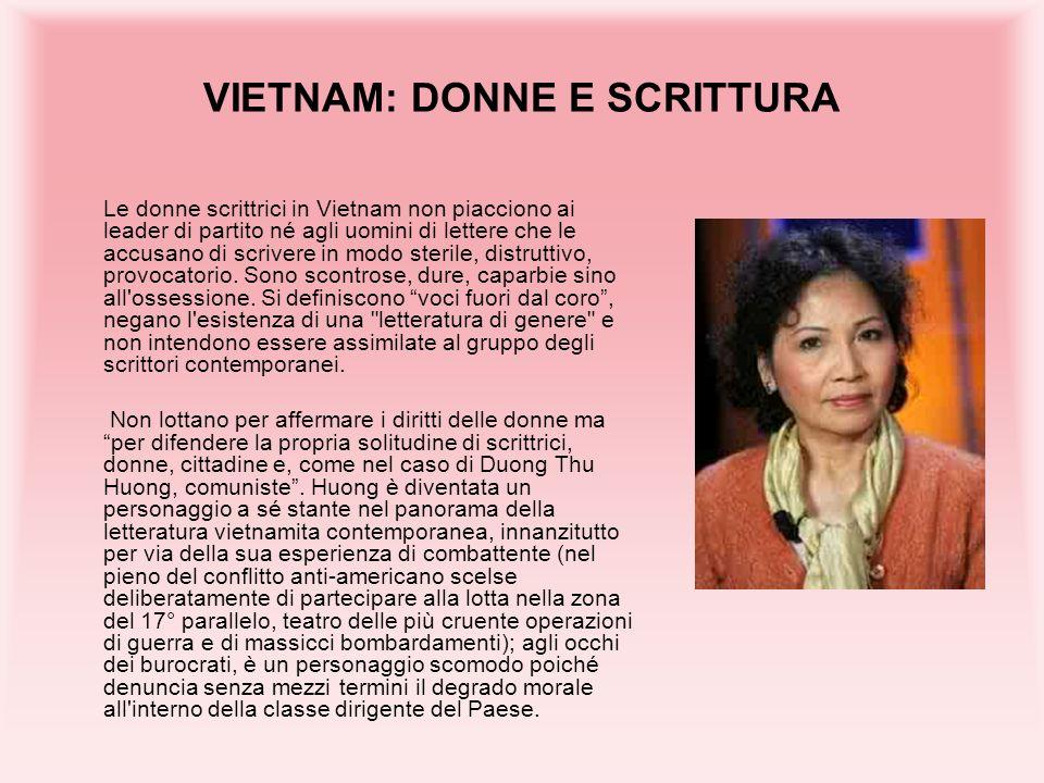 VIETNAM: DONNE E SCRITTURA