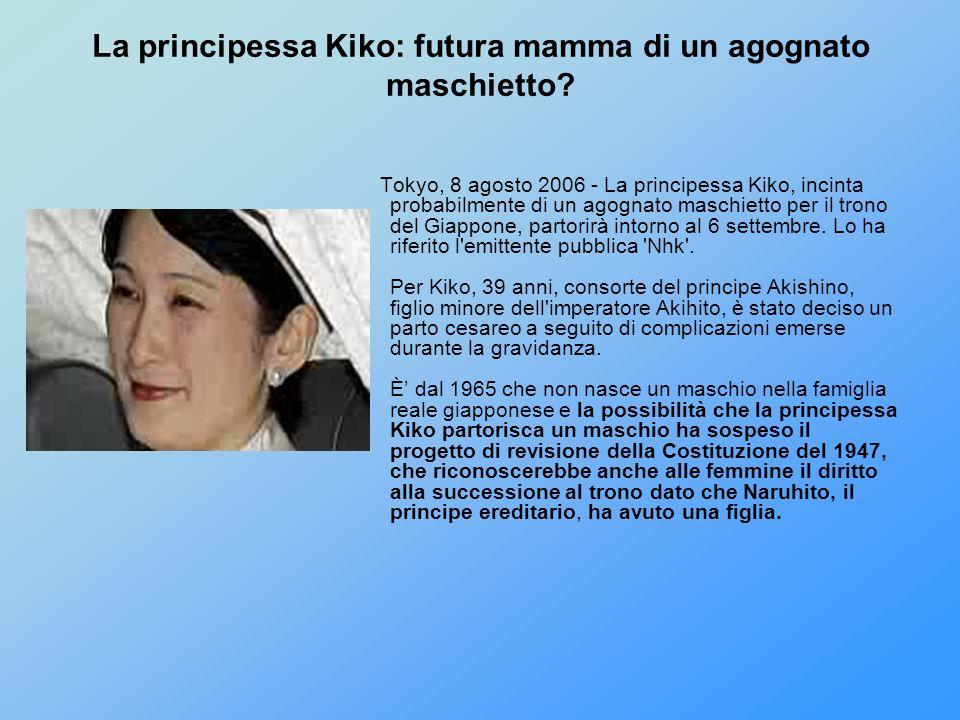La principessa Kiko: futura mamma di un agognato maschietto