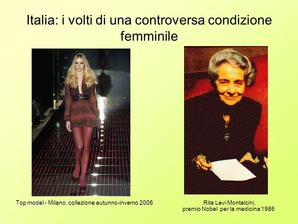 Italia: i volti di una controversa condizione femminile