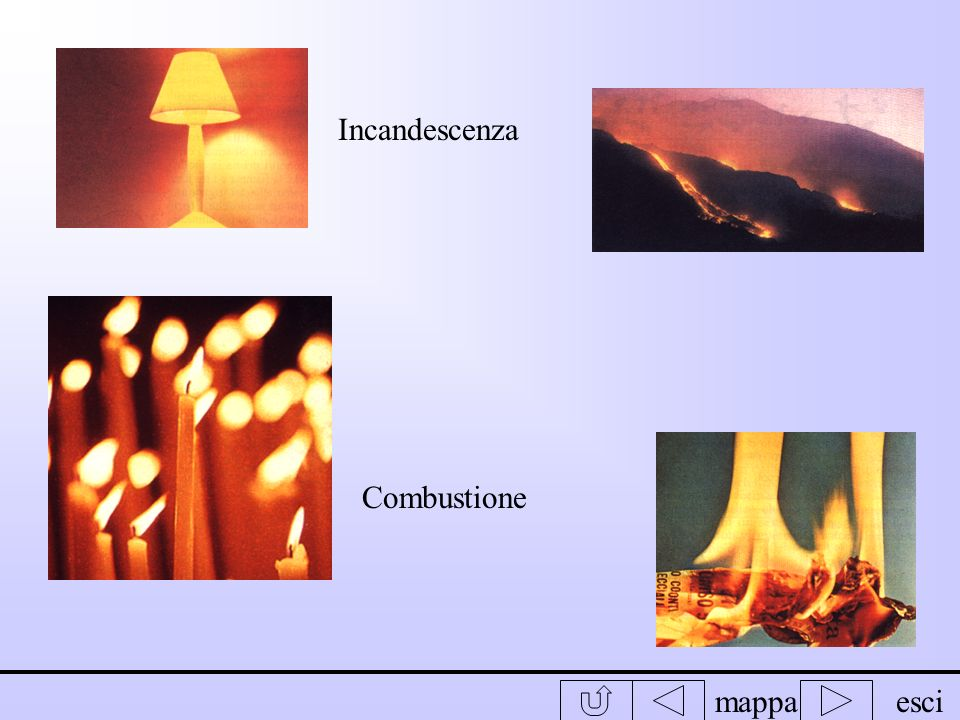 Incandescenza Combustione