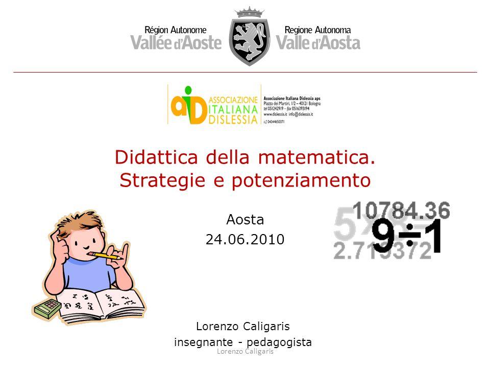 Didattica della matematica. Strategie e potenziamento